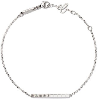 Chopard 18kt white gold Ice Cube Pure diamond bracelet