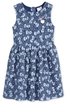 Hello Kitty Lace Bow-Print Dress, Toddler & Little Girls (2T-6X)
