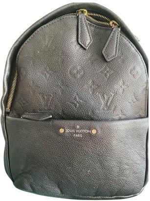 Louis Vuitton Sorbonne Backpack Black Leather Backpacks