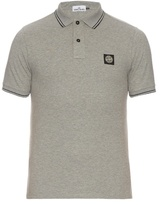 Stone Island Short-sleeved Stretch Cotton Polo Shirt
