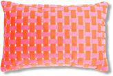 The Piper Collection Gwen 16x24 Velvet Pillow, Pink