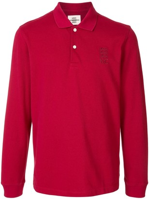 Kent & Curwen Long-Sleeve Polo Shirt