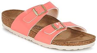 Birkenstock SYDNEY women's Mules / Casual Shoes in Orange