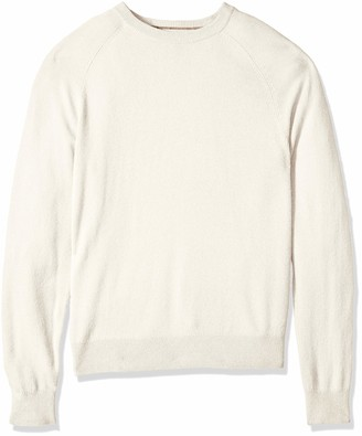 Buttoned Down Men's Cashmere Crewneck Sweater