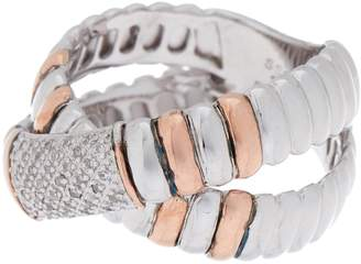 Effy Crisscross Crystal Ring - Size 7