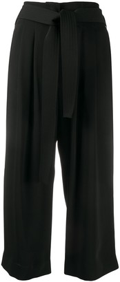 P.A.R.O.S.H. Belted Cropped Trousers