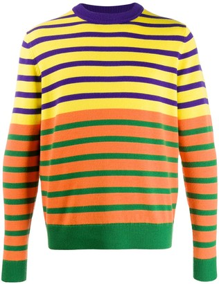 Acne Studios x Jacob Dahlgren colour-block striped jumper