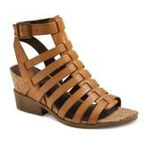 Mountain Sole Women's Mountain Sole Sable Cork Wedge Multi Strap Sandals