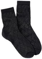 Shimera Lurex Crew Anklet Socks