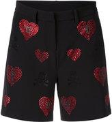 Philipp Plein Indi Lake shorts - women - Cotton/Polyester/Spandex/Elastane/Viscose - M