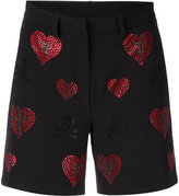 Philipp Plein Indi Lake shorts - women - Cotton/Polyester/Spandex/Elastane/Viscose - S