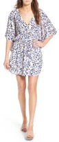 Cupcakes And Cashmere Women's Lakeside Floral Print Minidress