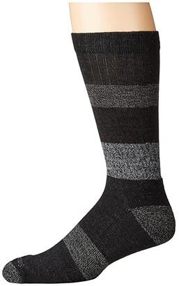 Smartwool Barnsley Crew (Black) Men's Crew Cut Socks Shoes