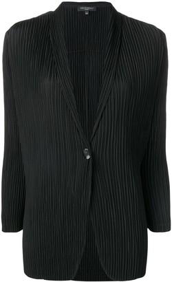 Antonelli V-neck pleated blazer