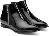 Marc by Marc Jacobs Blake Patent Leather Ankle Boots
