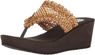 Yellow Box Women's Charm Wedge Sandal
