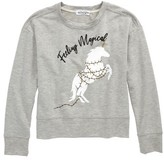 Ten Sixty Sherman Girl's Feeling Magical Christmas Unicorn Sweatshirt