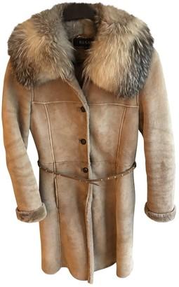 Gucci Camel Fur Coat for Women