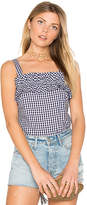 Amanda Uprichard Cynthia Tank in Navy