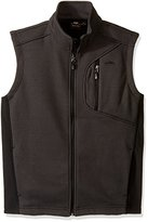 Pacific Trail Men's Sweater Knit Fleece Vest with Softshell Inserts