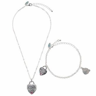 Me To You Love Padlock Tatty Teddy Neckalce and Bracelet Gift Set