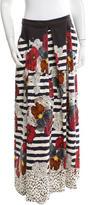 Philosophy di Alberta Ferretti Printed Maxi Skirt w/ Tags