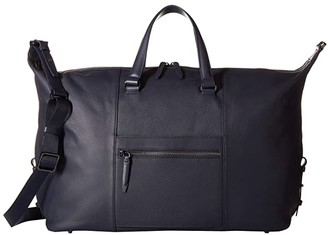 Lipault Paris Plume Elegance Leather Weekend Bag (Cognac) Bags
