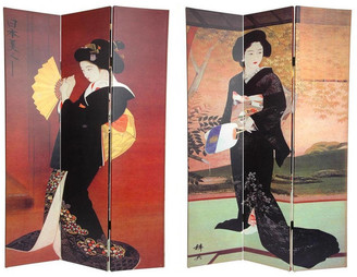 Oriental Furniture Handmade Room Divider