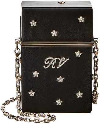 Roger Vivier Stars Rivets Leather Cigarette Case