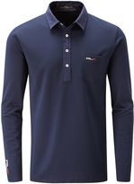 Rlx Ralph Lauren Long Sleeved Pocket Polo