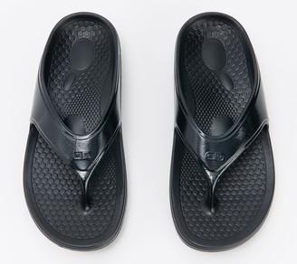Spenco Men's Orthotic Thong Sandals - Fusion Fade