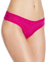 Commando Perforated Active Thong #AT002