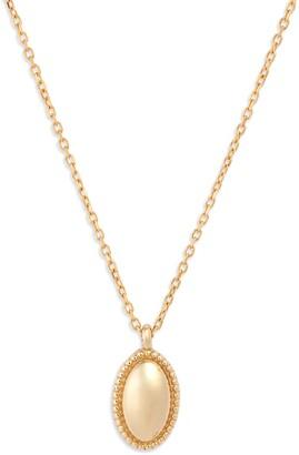 Jennie Kwon Designs Oval Pendant Necklace