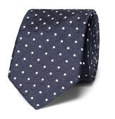 Dolce & Gabbana - 6cm Polka-dot Silk-jacquard Tie