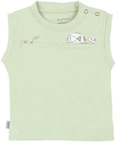 Kushies Green Gone Fishing Sleeveless Tee - Infant
