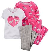 "Carter's Baby Girls' ""Leopard Kitten"" Footed Pajamas"