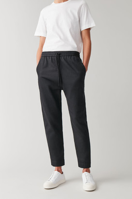 Cos Relaxed Cotton-Linen Pants