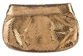 Nancy Gonzalez Snakeskin Clutch