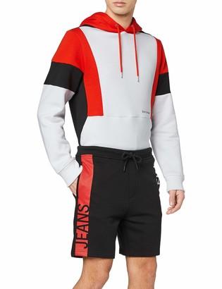 Calvin Klein Jeans Men's Stripe INSTITUTIONAL HWK Short