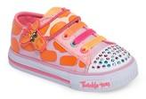 Skechers Toddler Girl's Shuffles - Party Pets Sneaker
