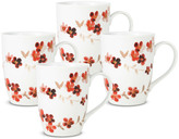 Mikasa Lindsey Set of 4 Mugs