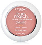 L'Oreal True Match Blush, Apricot Kiss, 0.21 Ounces