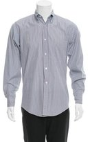 Hermes Striped Button-Up Shirt