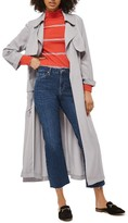 Topshop Women's Utility Pocket Duster Coat