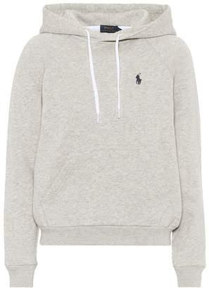 Polo Ralph Lauren Cotton-blend jersey hoodie
