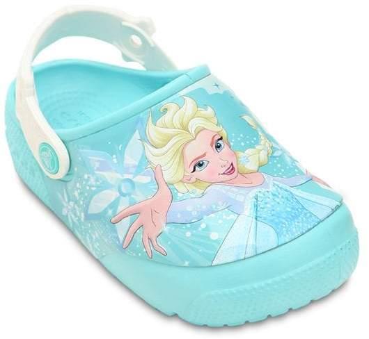 Crocs Frozen Elsa Print Rubber