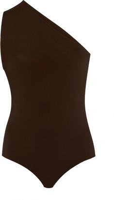 Bottega Veneta One-Shoulder Stretch-Jersey Swimsuit