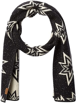 Pendleton Lambs Wool Scarf (Plains Star Charcoal) Scarves