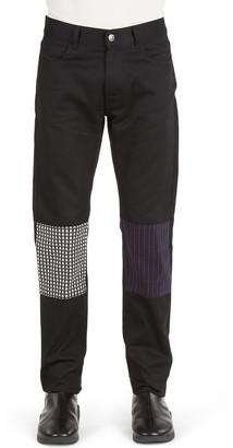 Raf Simons Stars & Stripes Patch Slim Fit Jeans