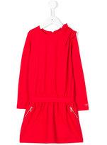 Lili Gaufrette bow detail dress